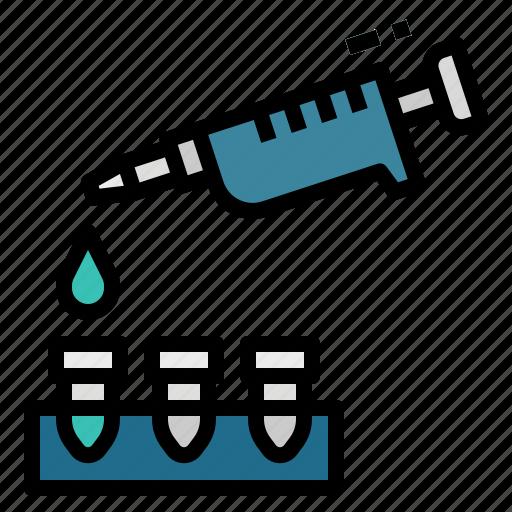 chemistry, dropper, lab, pipette, science icon