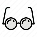 glasses, healthcare, medical, reading, vision icon