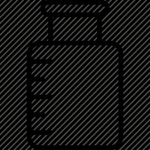 bottle, jar, medical jar, medicine icon