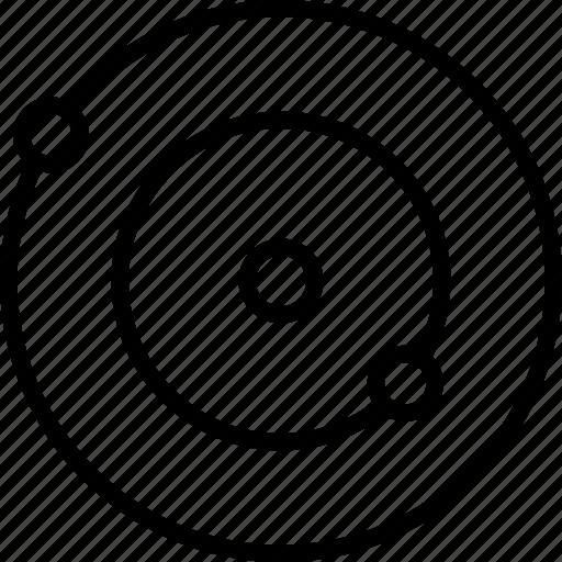 galaxy, radar, satellite, space icon