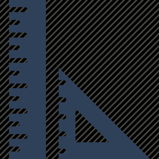 degree square, drafting, geometry, maths icon