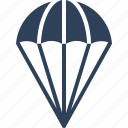 air balloon, hot air balloon, parachute, parachute balloon icon