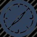 analog device, gauge, gauge meter, pressure gauge icon