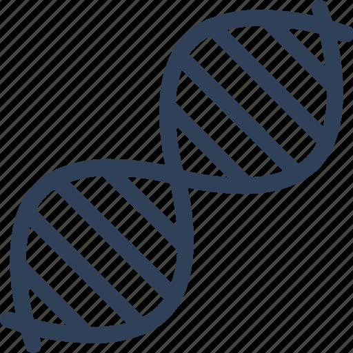 biology, dna, dna chain, dna helix icon