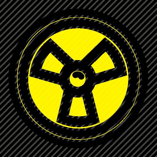 biohazard, chemist, science icon