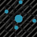atom, science, education, school