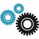 gear, options, science, settings icon
