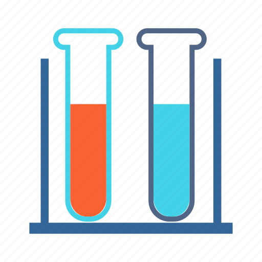 chemicals, chemistry, experiment, laboratory, sample, scientific, test tube icon