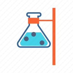 chemical, chemistry flask, experiment, flask, laboratory icon