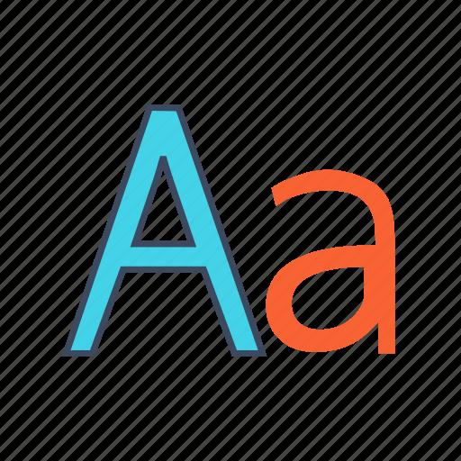 alphabet, english, language icon