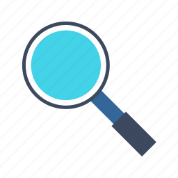 find, finder, magnifier, magnifying glass, search icon