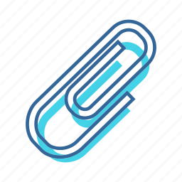 affix, attach, attachment, documents, pin icon