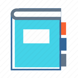 address book, book, diary, journal, notebook icon