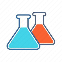 chemicals, chemistry flask, flask, glass flask icon