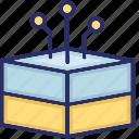 database connection, database stack, stack, storage icon