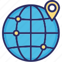 cdn, global, gps, location icon