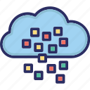 big data, cloud, database, storage