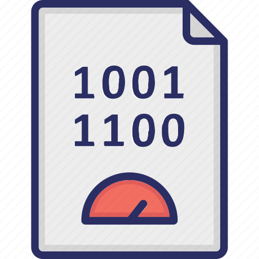 binary code, coding speed, fast coding, generation icon