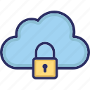 cloud storage, encryption, padlock, secure