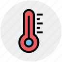 celsius, fahrenheit, hot, medical, science, temperature, thermometer icon