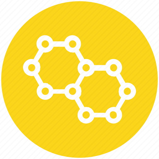 Chemistry, cubs, hexagons, molecule, science, study icon - Download on Iconfinder