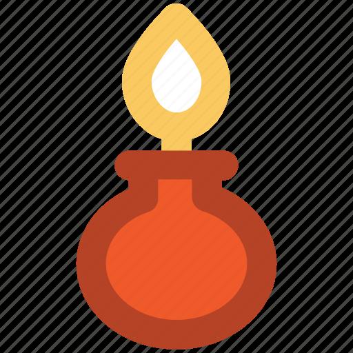 burner, lab equipment, research, science, spirit lamp icon