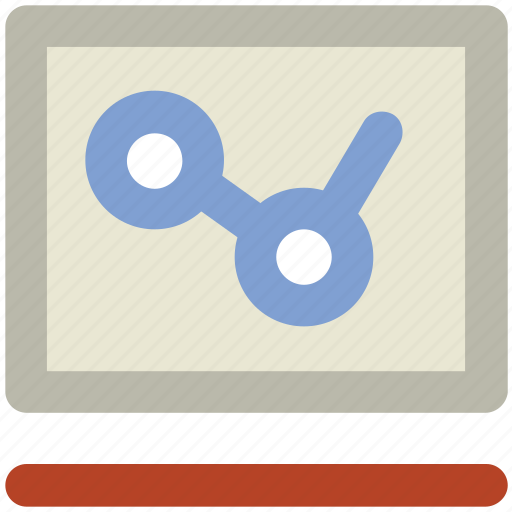 analysis, chart, graph, infographic, science, screen chart, statistic icon