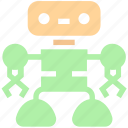automation, robot, robot face, science, technology, working