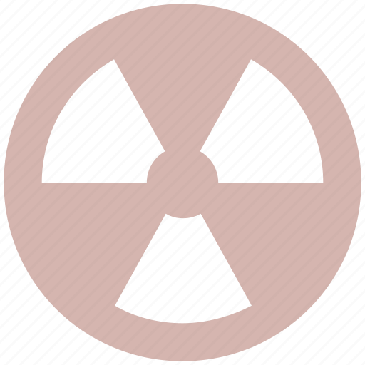 danger, nuclear, radiation, radioactive, science, toxic icon