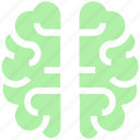 brain, brainstorming, human brain, intelligence, organ, science icon