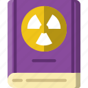 book, laboratory, research, science icon
