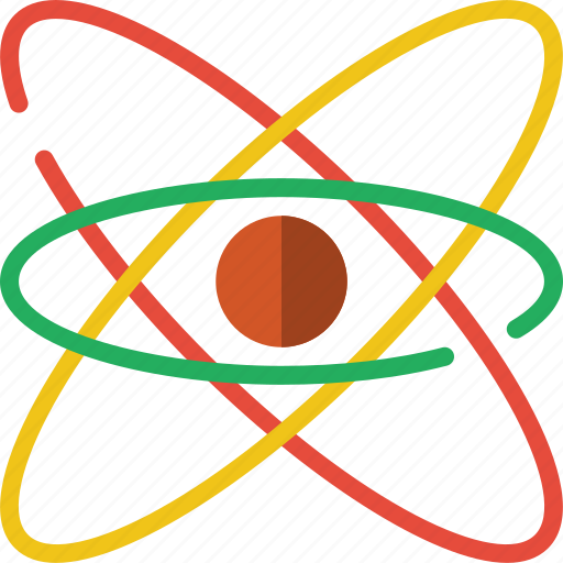 atoms, laboratory, research, science icon