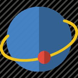 atom, laboratory, research, science icon