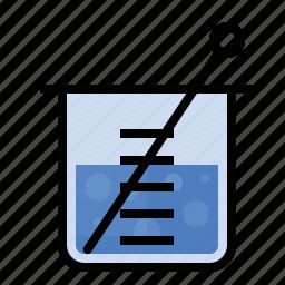 beaker, mixer, science icon