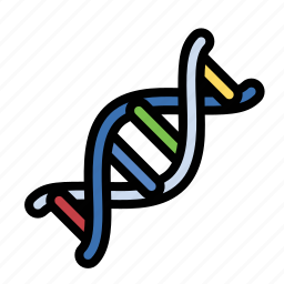 dna, helix, rna, science icon