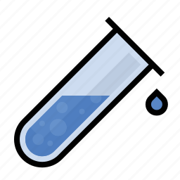 science, test, tube icon