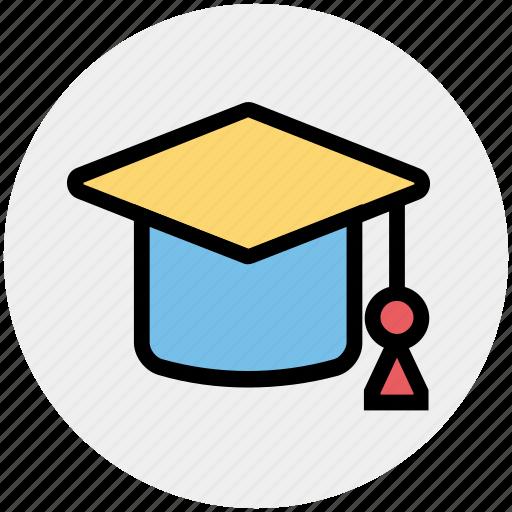 Cap, degree, education, graduate, graduation, hat, science icon - Download on Iconfinder