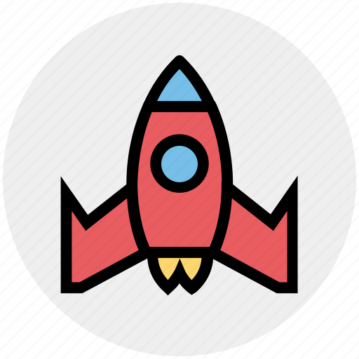 Missile, rocket, rocket launch, science, spacecraft, spaceship, startup icon - Download on Iconfinder