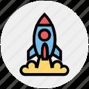 missile, rocket, rocket launch, science, spacecraft, spaceship, startup