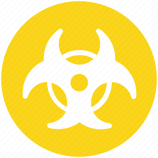 biohazard, danger, hazard, nuclear, toxic icon