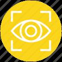analysis, eye, eye focus, monitoring, target, vision