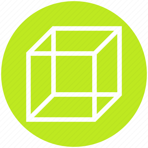 Box, cube, geometry, math, science, shape, square icon - Download on Iconfinder
