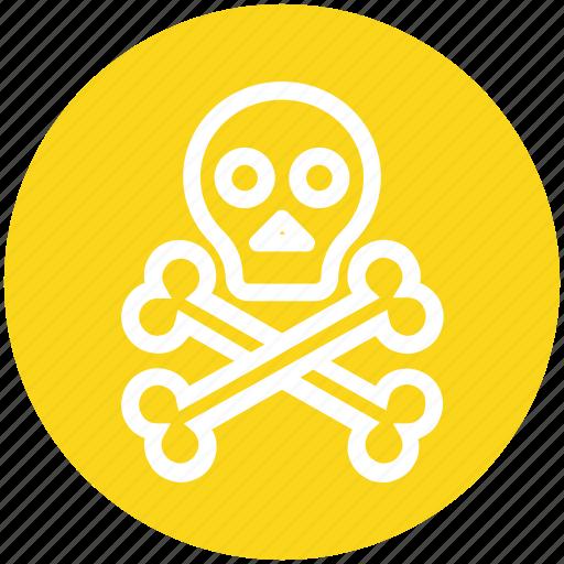 Danger, death, halloween, head, science, skeleton, skull icon - Download on Iconfinder