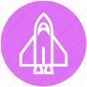 missile, rocket, rocket launch, science, spacecraft, spaceship, startup icon
