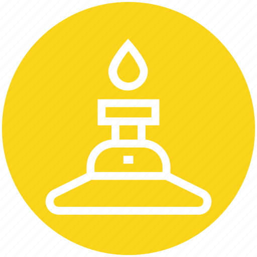 Burn, candle, education, fire, light, physics, science icon - Download on Iconfinder