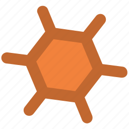 atom, biology, compound, molecular configuration, molecule, science icon