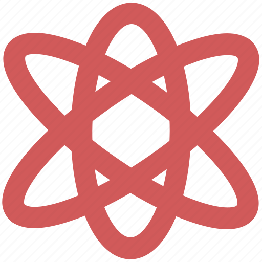 atom, molecule, orbit, orbital icon