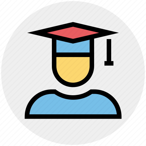Cap, degree, education, graduate, graduation, science, student icon - Download on Iconfinder