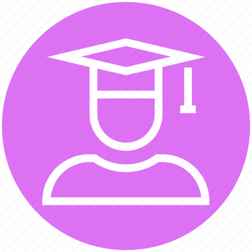 Cap, education, graduate, graduation, science, student icon - Download on Iconfinder