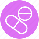 capsule, medical, medicine, science, space, tablet icon